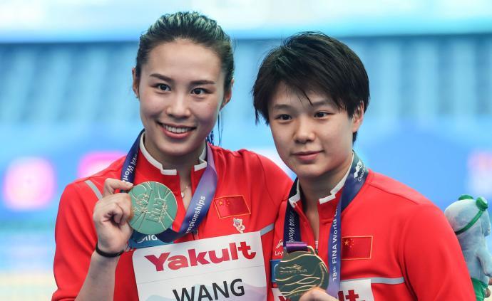 中国跳水女双三米板十连冠,施廷懋:要把精神传承下去