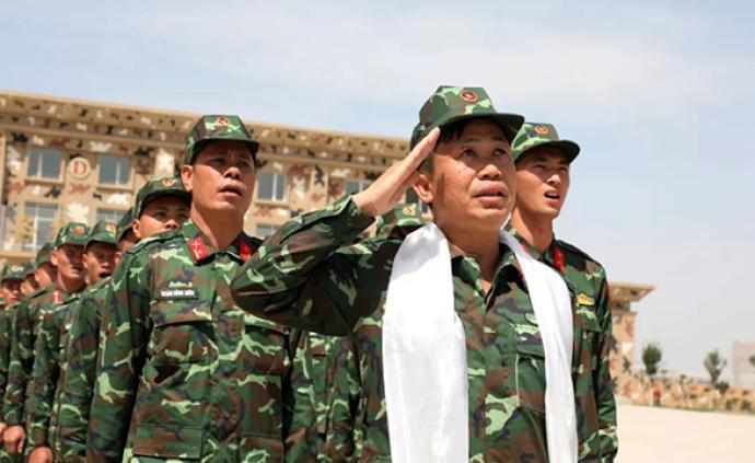 国际军事?#28909;?#38470;军承办赛事准备工作就绪,越南参赛队抵达
