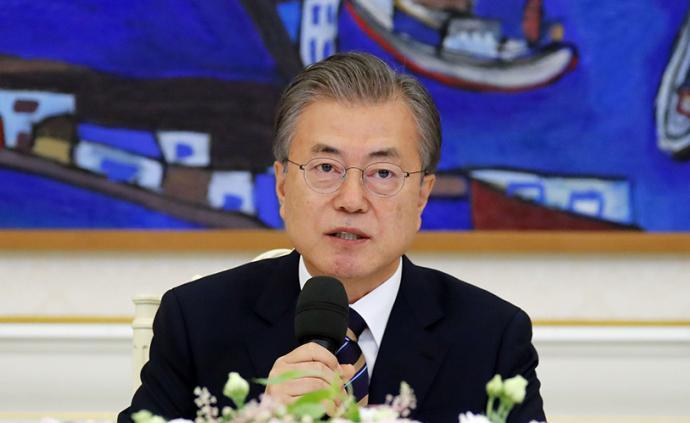 日本半导体制裁下,文在寅为韩企打气:呼吁全民共渡难关