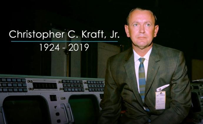 NASA首位飞行指挥官克拉夫特逝世