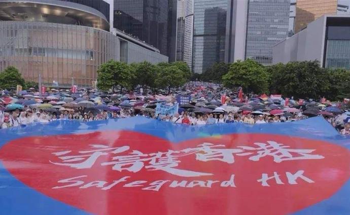 中國駐加使館就香港示威事件答問:西方有些人是赤裸裸的雙標