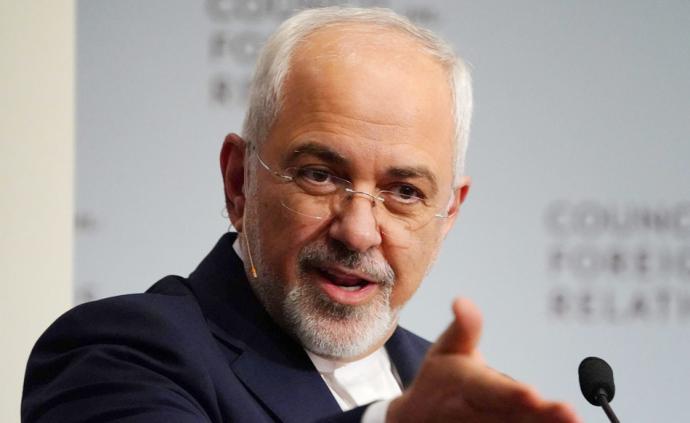 """當地時間2019年7月31日,美國政府宣布對伊朗外長扎里夫實施制裁。對此,扎里夫在個人官網上發布聲明稱:""""這對我和家人沒有任何影響,在伊朗之外我沒有任何資產。謝謝你們將我視為如此大的威脅!"""""""