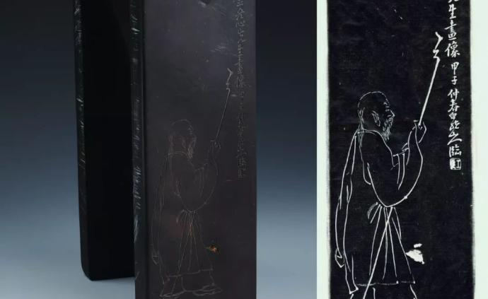 嘉定將展歷代名硯:從漢三熊足圓硯到金冬心像太史硯