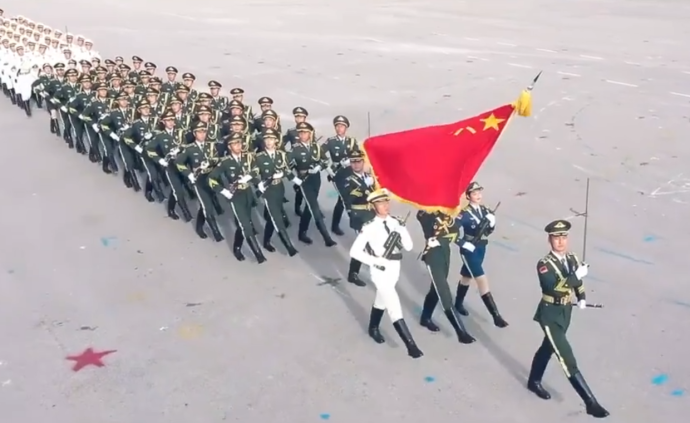 解放軍駐港部隊宣傳片是中方在向外方釋放態度?外交部回應