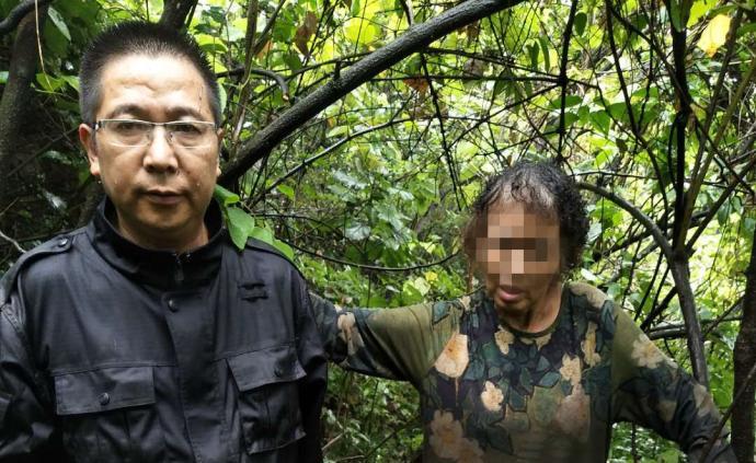 暖闻|重庆七旬老人找草药失足后失联,警民十余人搜山救回