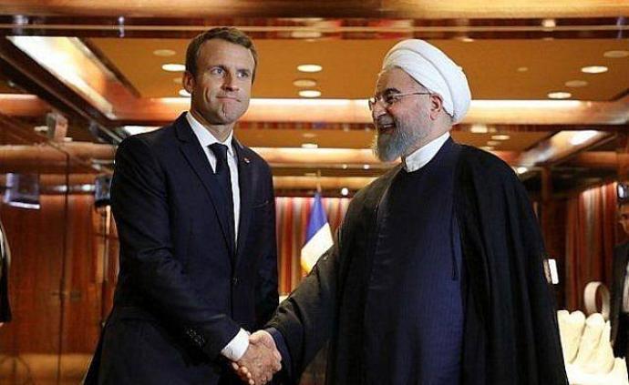 马克龙与鲁哈尼通话,伊朗敦促欧洲国家尽快行动以防局势恶化