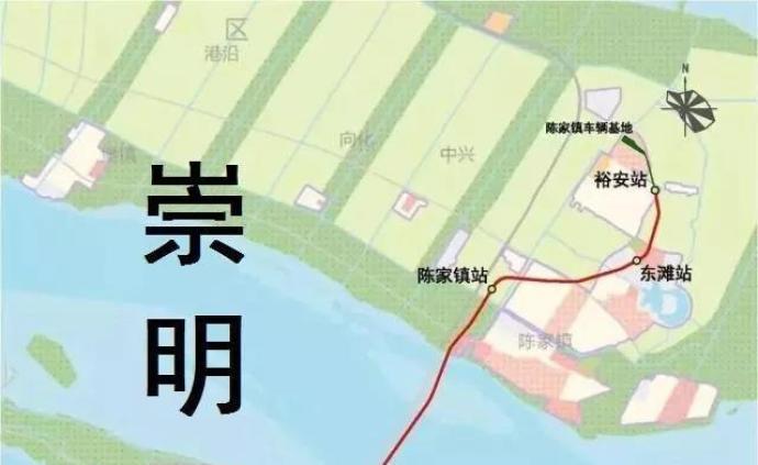 上海轨交崇明线年底开工!连接崇明与浦东,途经长兴岛