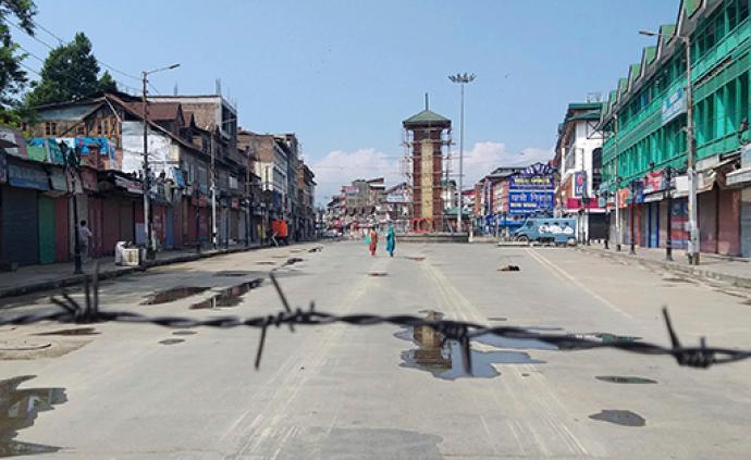 印媒:印控克什米尔的通讯和互联网已部分恢复