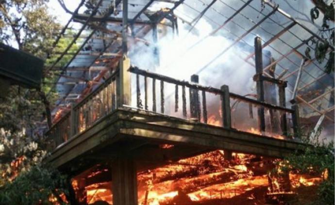 台湾优人神鼓剧团突遭大火,剧场和乐器付之一炬