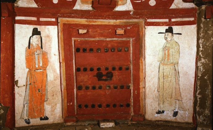 大同历代墓葬壁画:北魏见庖厨宴乐,元代则山水人物