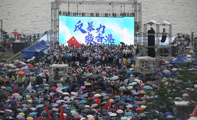在港居住40年的国际友人:珍惜香港热爱中国,彻底停止暴力