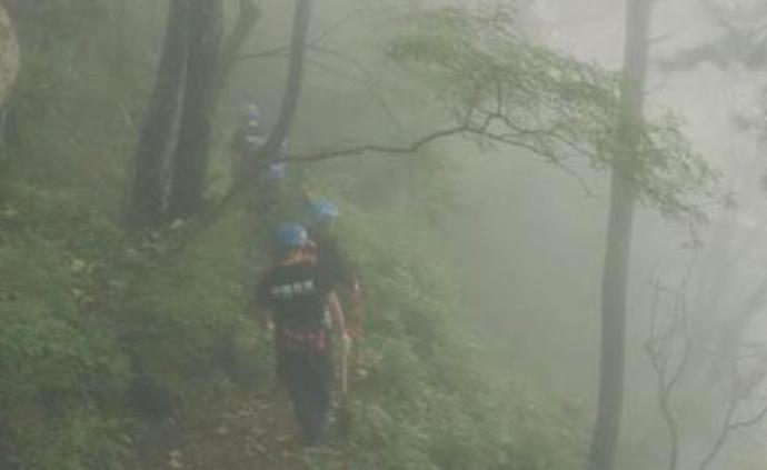 上大副教授在河南汉山景区失联半月,救援队员推测生还希望小