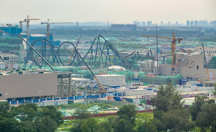 2021年开园!北京环球影城主题公园开始游乐设施安装