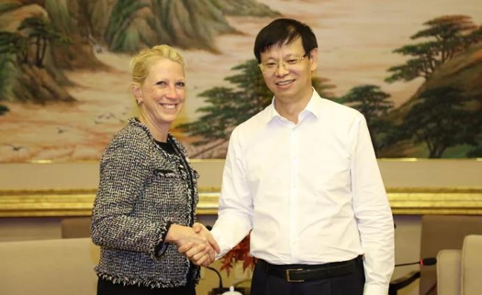 霍尼韋爾高級副總裁:希望未來在上海進一步探索擴大業務發展