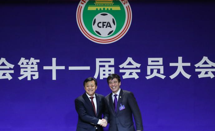 陈戌源直面媒体:足协将推动申办世界杯,我仍是足球的外行