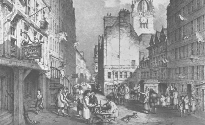 苏格兰史︱18世纪的爱丁堡与格拉斯哥为何迥然不同?