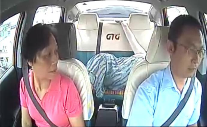 暖闻|二胎妈妈羊水破裂,广州的哥一路超速闯红灯护送获免罚