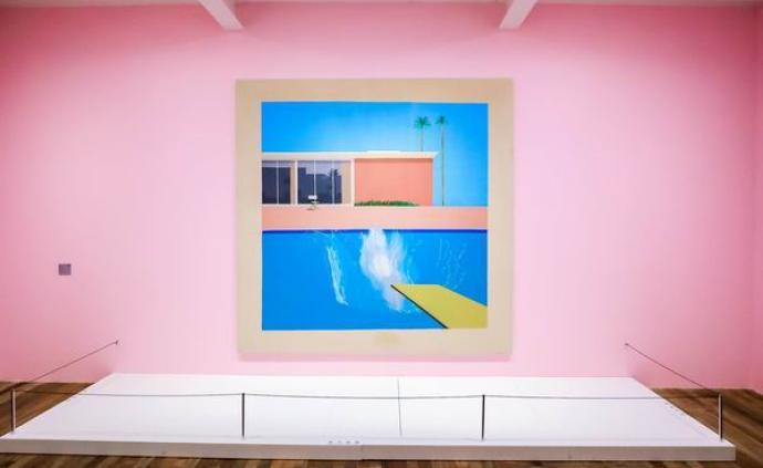 """大衛·霍克尼""""大水花""""今起北京展出,百件作品多來自泰特"""