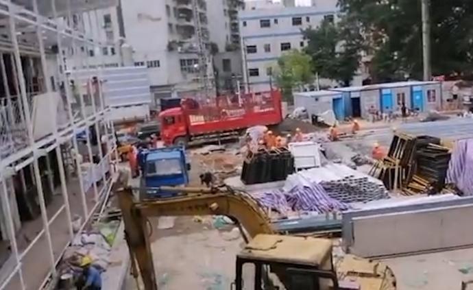 """深圳龍華回應""""開學在即學校仍在施工"""":啟動借址辦學預案"""