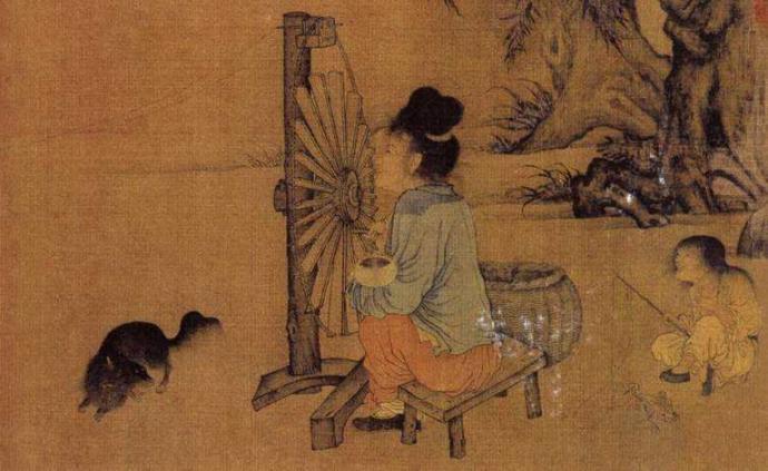 微景观丨纺织的遐思