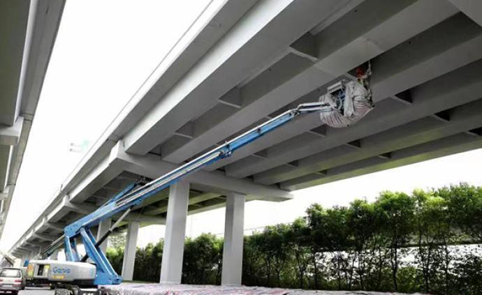 隧道股份光速作业迎进博:40天完成11万平米高架翻新工程
