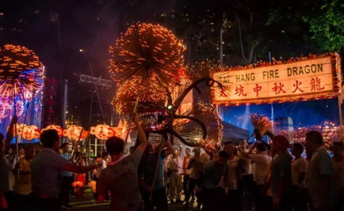 中秋节的舞龙习俗