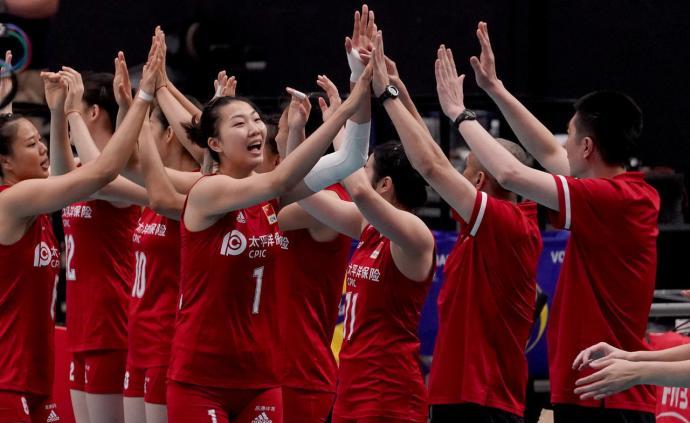 开门红!中国女排3-0横扫韩国,赢下女排世界杯首战
