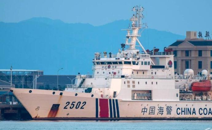 中国海警舰艇编队9月16日在我钓鱼岛领海巡航