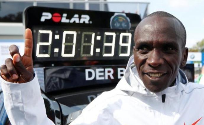 """馬拉松紀錄成了""""易碎品"""",人類跑進兩小時指日可待?"""