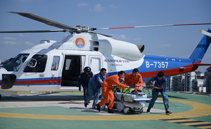 水陆空联动,第二届进博会应急医疗救援综合演练今日举行