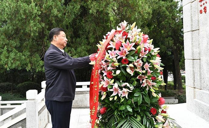 习近平:牢记红色政权是从哪里来的