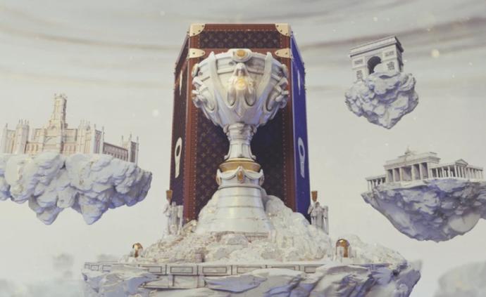 路易威登将为2019英雄联盟全球总决赛冠军定制奖杯旅行箱