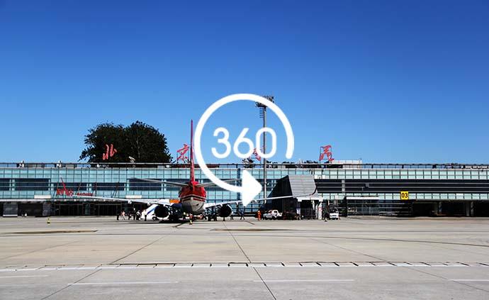 全景視頻|再見!中國首座機場南苑機場關閉民用航空