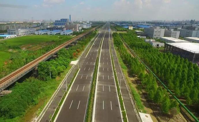 進博會周邊交通進一步完善,又有兩條保障道路具備通車條件