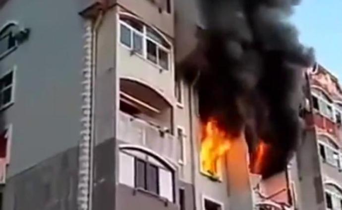 大連旅順口區通報一居民家燃氣罐爆燃:5名傷者生命體征平穩