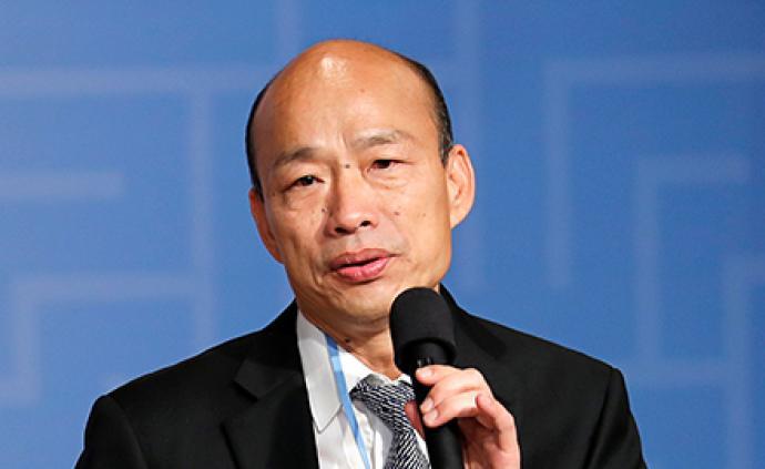 韩国瑜下周请假全力打选战,明年1月11日后销假上班