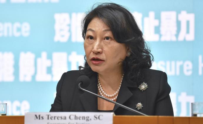 鄭若驊:訂立《禁止蒙面規例》是希望有效減少暴力行為