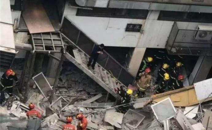 南京秦淮建筑墻體坍塌事故致1人遇難、4人受傷