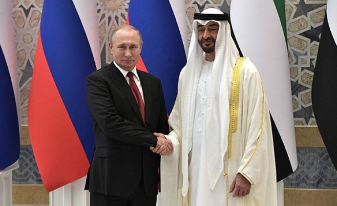 普京訪問阿聯酋簽14億美元大單,兩國將加強經濟與安全合作