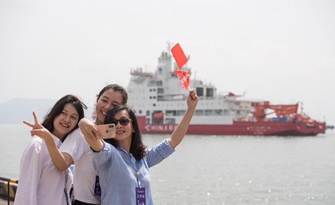 """中国第36次南极考察队即将启航,""""雪龙2""""号将首航南极"""