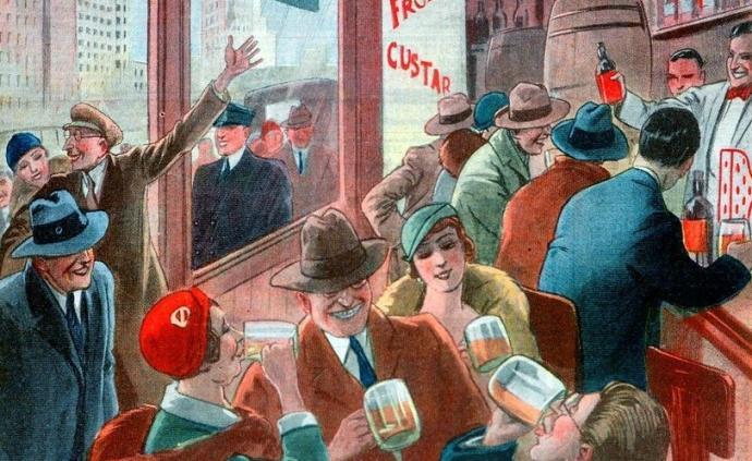 作家与酒吧:剑拔弩张的乐园