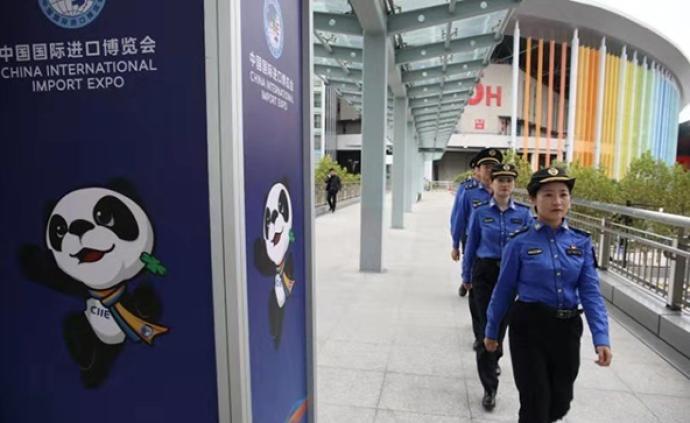 上海城管執法隊員將首次進駐進博會場館,開展垃圾分類檢查