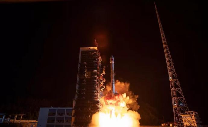 我國成功發射通信技術試驗衛星四號