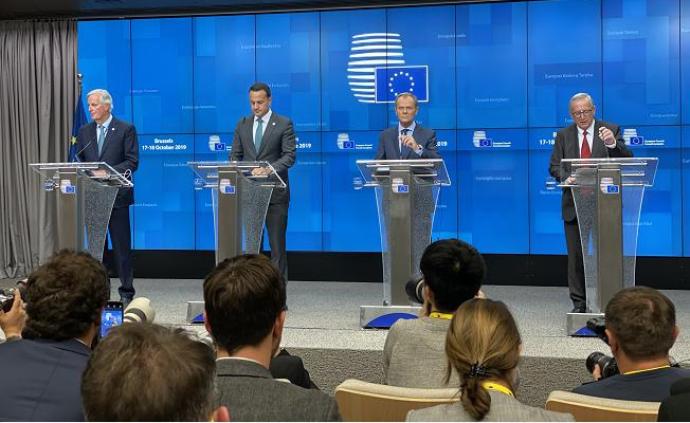 英國脫歐新協議在歐盟峰會獲得通過