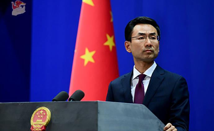 外交部:中国政府?#28216;?#35201;求解雇莫雷