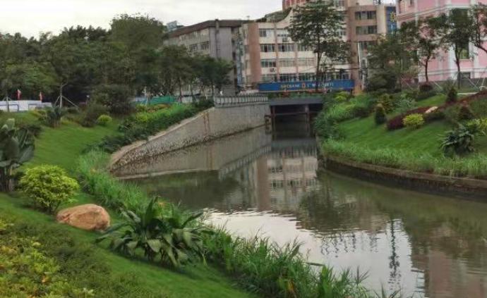 """""""垃圾河""""變休閑好去處,廣州黃埔區宏崗河整治見成效"""