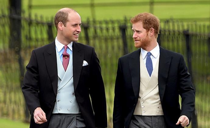 """哈里王子首度回应与威廉不和传闻:""""我们走在不同的道路上"""""""