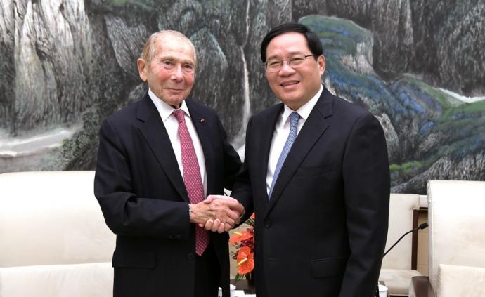李強書記同市咨會這兩位歷任主席會面,暢敘友誼、傾聽建議