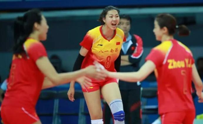 体坛联播|八一女排闯入军运会决赛,樊振东乒乓团体夺金