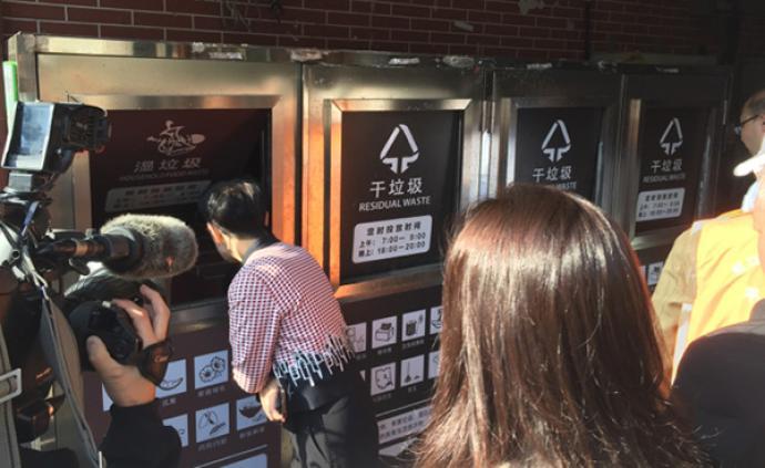 医院菜场文创园区垃圾分类做得如何?上海市人大今天去暗访了